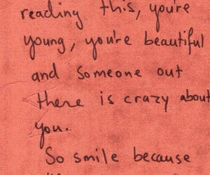 quotes, smile, and beautiful image