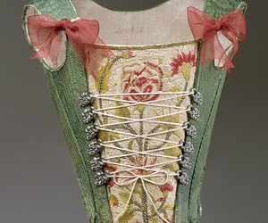 18th century, fashion, and corset image