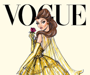 vogue, disney, and princess image