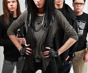 bill kaulitz, tokio hotel, and gustav schäfer image
