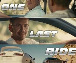 fast and furious, furious 7, and dom and brian image