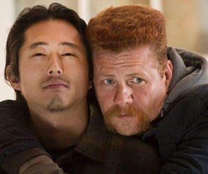the walking dead, Abraham, and glenn image