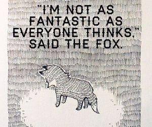 fox, quote, and sad image