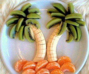 banana, exotic, and palm trees image