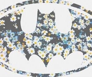 batman and flowers image