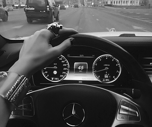 luxury, mercedes, and car image