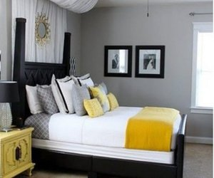 bedroom, design, and decor image