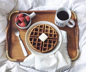 berries, breakfast, and morning image