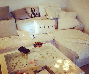 room, white, and home image
