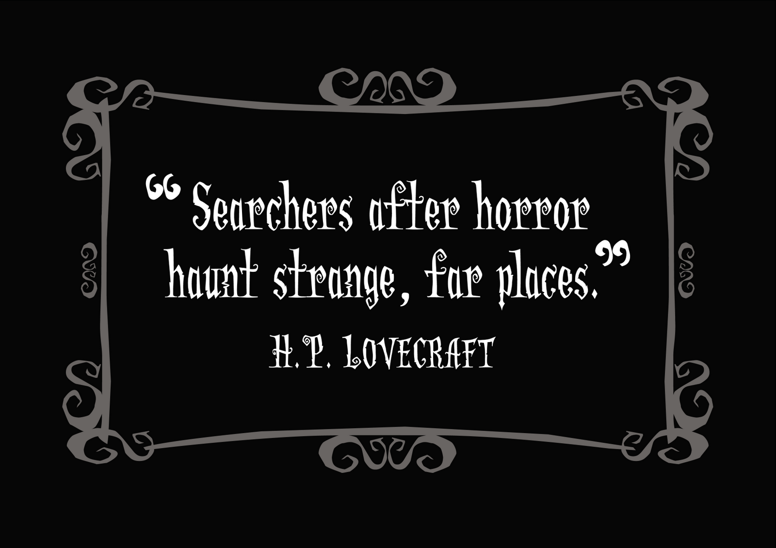 Little Gothic Horrors Delightfully Dark Quotes