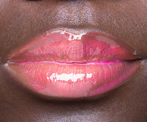 lips, glam, and gloss image