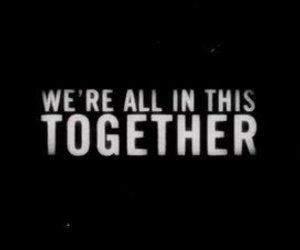 together and typography image