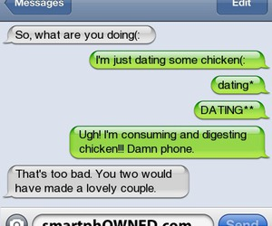 Chicken, lol, and smartphowned image