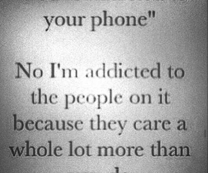 addicted, phone, and internetfriends image