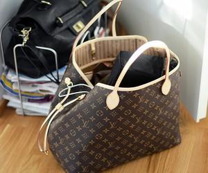 bag, fashion, and Louis Vuitton image
