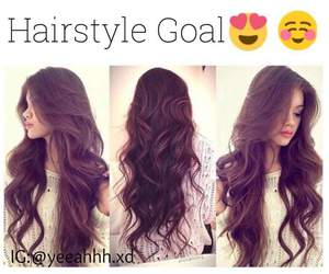 girl, goal, and hair image