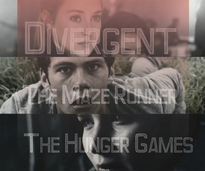video, divergent, and the_hunger_games image