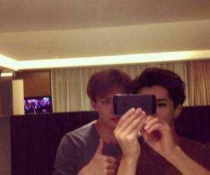 sehun, exo, and donghae image