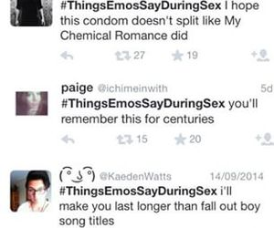 emo, fall out boy, and lol image