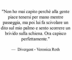 fall in love, divergent, and veronica roth image