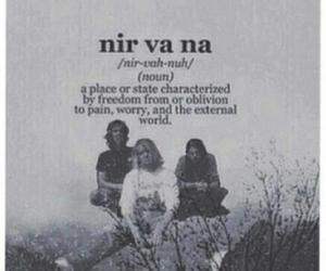 nirvana, kurt cobain, and band image