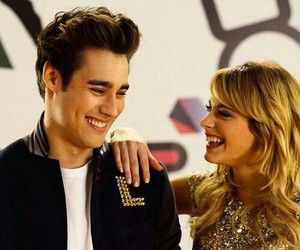 violetta, jorge blanco, and martina stoessel image