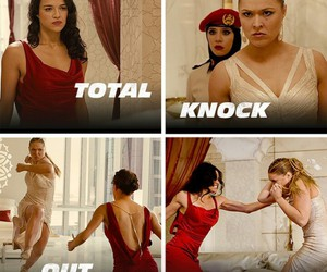 fast, girls, and knock image