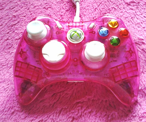 pink, game, and xbox image