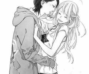 girl, manga, and love image