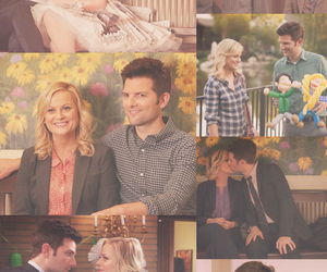Amy Poehler, otp, and parks and recreation image