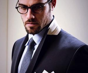 beard, shirt, and style image