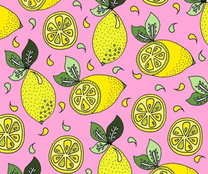 background, wallpaper, and lemon image