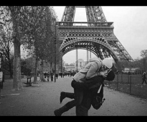 france, hug, and kiss image