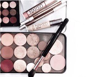 eyeshadow, urban decay, and makeup geek image