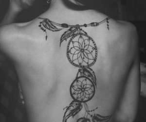 free, tattoo, and traumfänger image