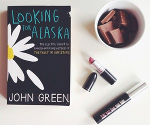 book, looking for alaska, and chocolate image
