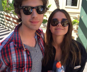 maia mitchell, david lambert, and the fosters image