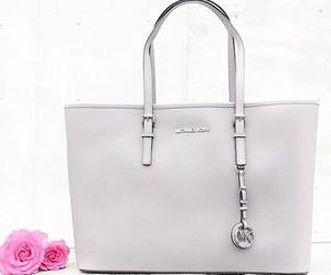 bag, Michael Kors, and grey image