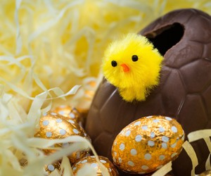 Chicken, chocolate, and eggs image
