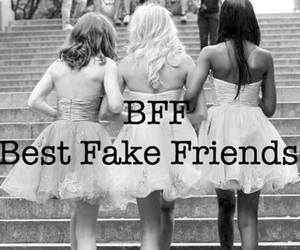 bff, hate, and black and white image