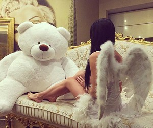 angel, bear, and luxury image