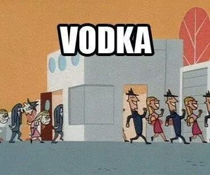 vodka, happy, and funny image