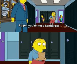 kangaroo, funny, and simpsons image
