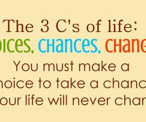 chances, change, and choices image
