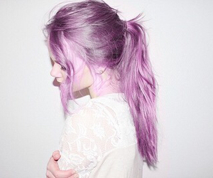 hairstyle, haircolor, and colorfulhair image