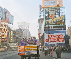 vintage and times square image