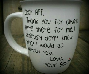 Best, bff, and cup image