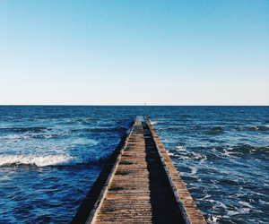 beach, beautiful, and rimini image