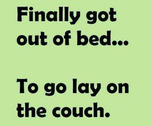 bed, couch, and lol image