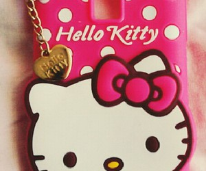 cat, hello kitty, and pink image